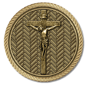 Christ Crucifix Medallion