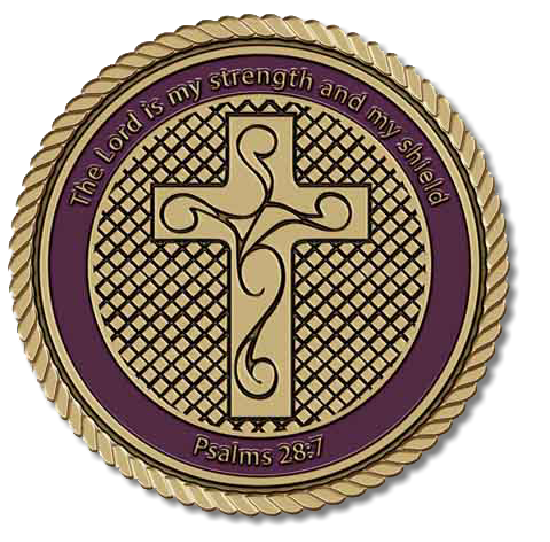 Cross Shield Medallion