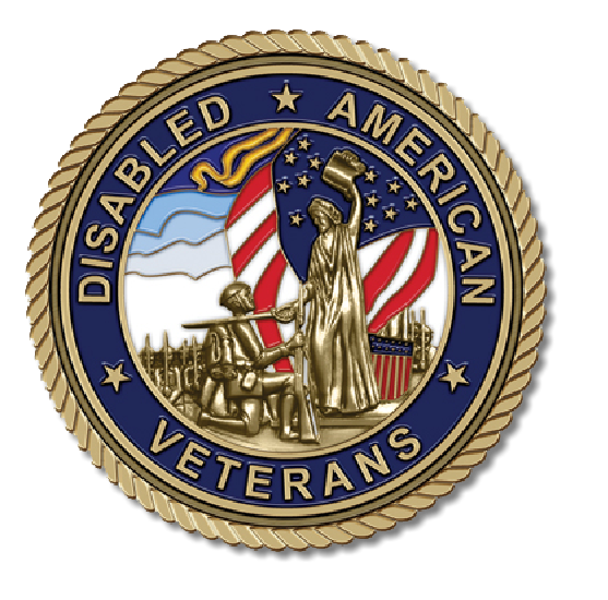 Disabled American Veterans Medallion