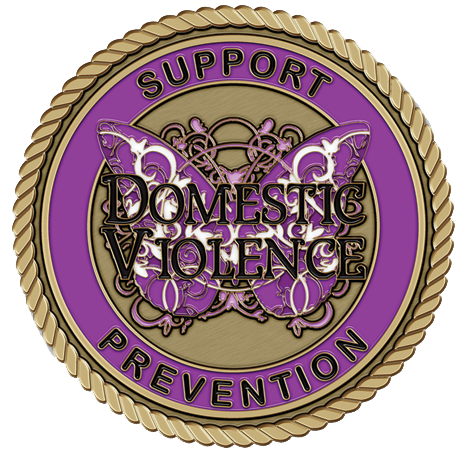 Domestic Violence Medallion