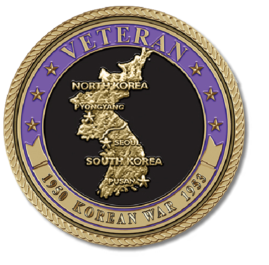 Korean War Veteran Medallion