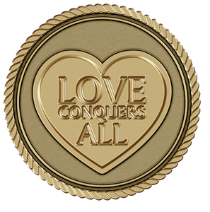Love Conquers All Medallion