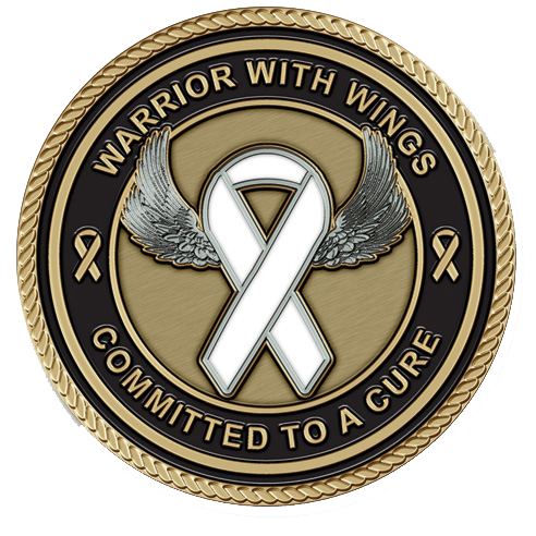 Lung Cancer Medallion