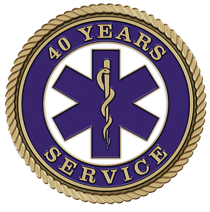 Medical 40 Years Medallion