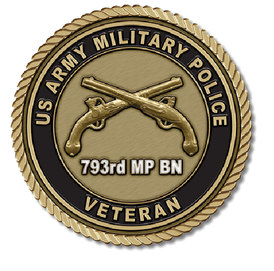 US Army Military Police Medallion