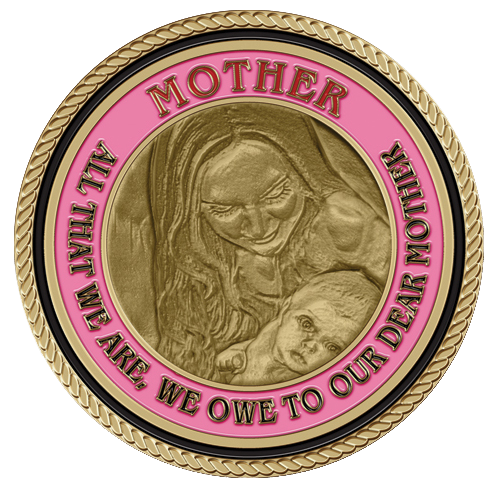 Mother's Gaze Medallion