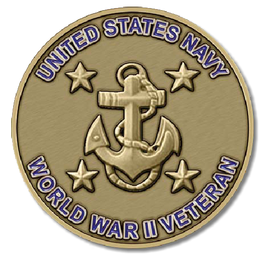 Navy Medallion - WWII Veteran