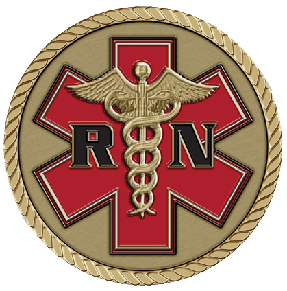 ER Nurse Medallion