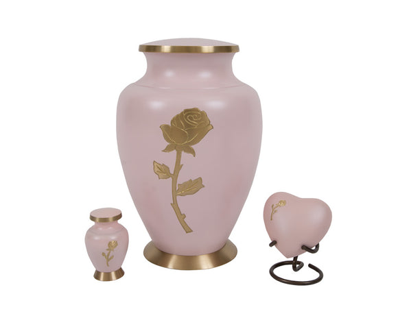 Rose Urn Complete Set
