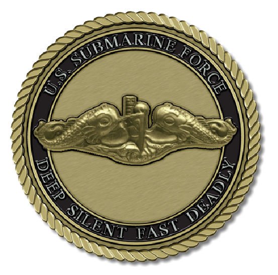 Submarine Force Medallion