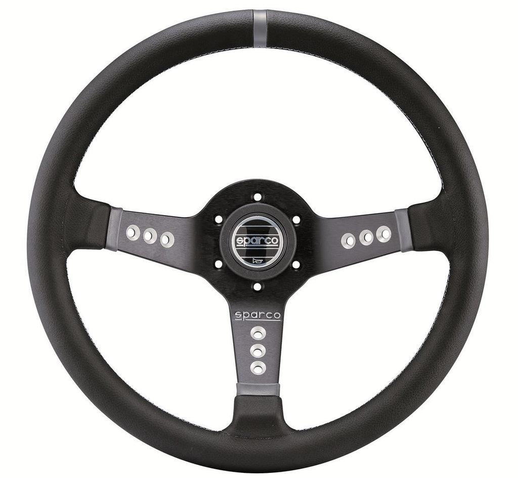 Sparco Steering Wheel L777 Leather Black