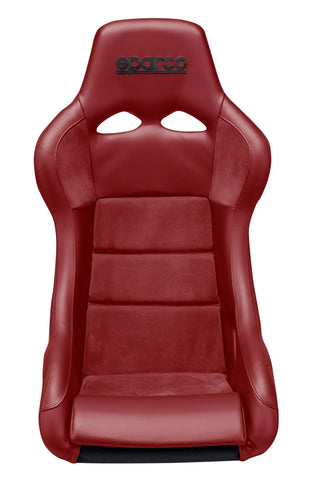 Sparco Seat QRT Performance Leather/Alcantara Red