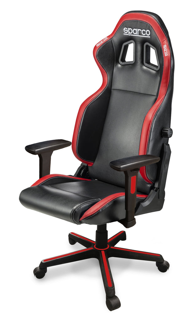 Sparco Game Chair ICON Black/Red