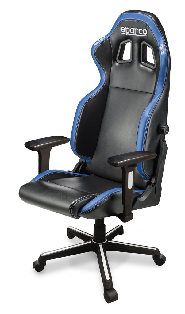 Sparco Game Chair ICON Black/Blue