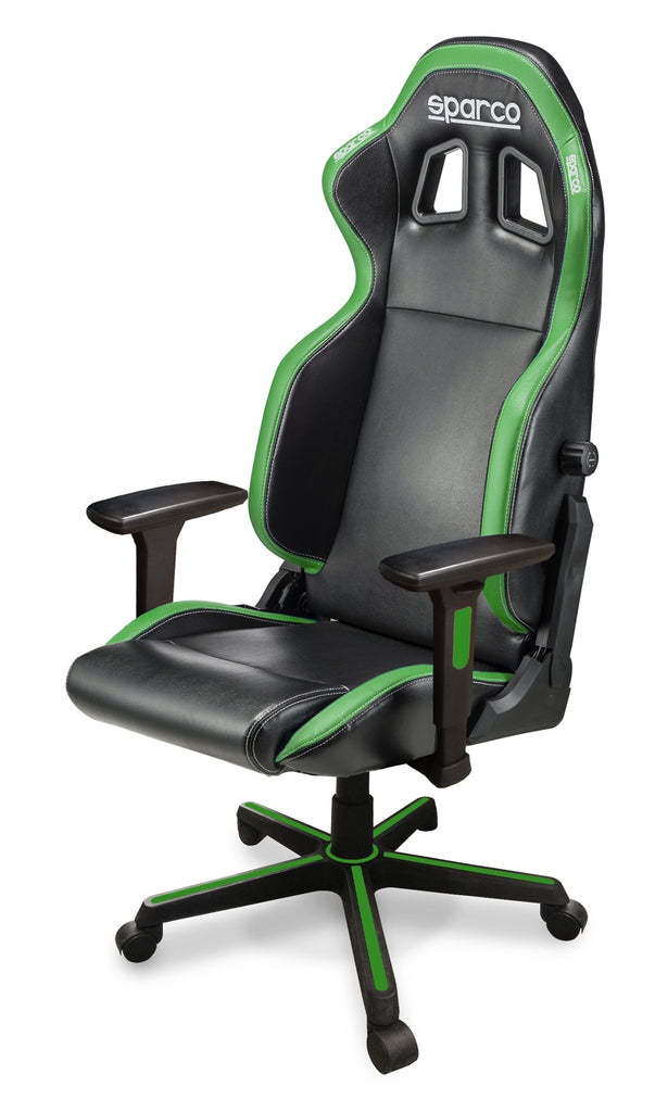 Sparco Game Chair ICON Black/Green