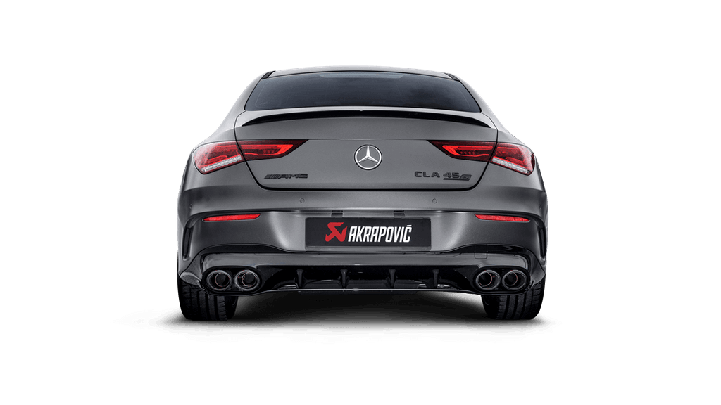 Akrapovic Mercedes-Benz CLA45 S AMG (C118/X118) Evo Line (Titanium) with Carbon Tips/SS Link Pipes