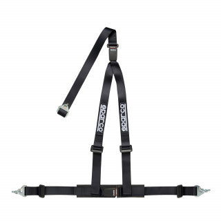 Sparco 2 INCH 3PT DBL REL Racing Harness