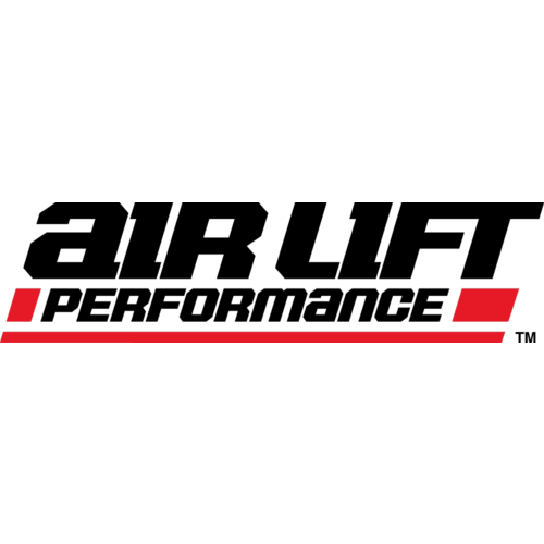 Air Lift 2.5 Gal Alum Air Tank - (4) 1/4in Face Ports & 1/4in Drain Port - 20in L X 6in D - Polished