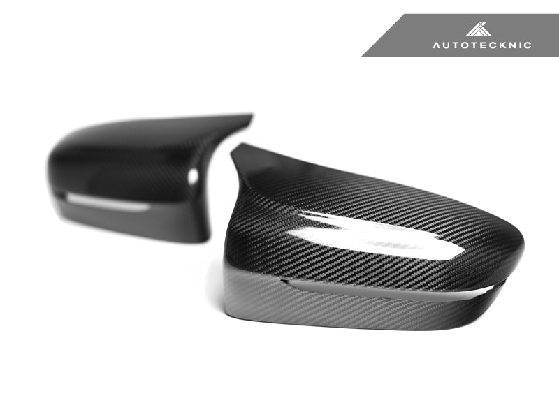 AUTOTECKNIC REPLACEMENT DRY CARBON MIRROR COVERS - BMW F90 M5
