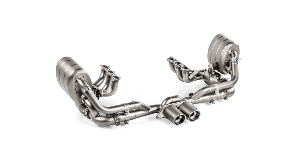 Akrapovic 2018 Porsche 911 GT3 (991.2) Evolution Header Set