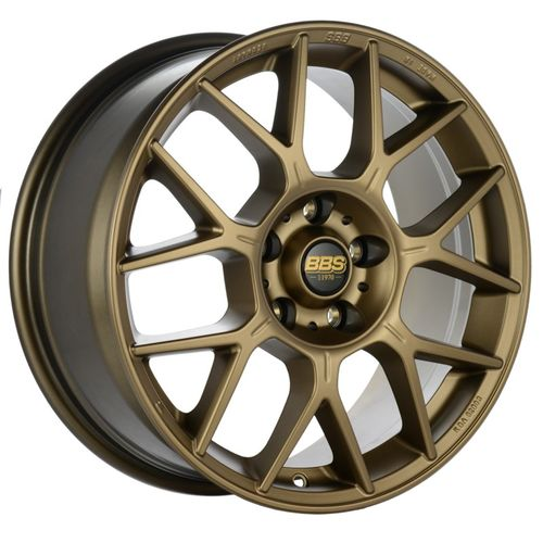 BBS XR 0101 18x8 5x112 ET28 Bronze Wheel -82mm PFS/Clip Required
