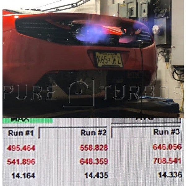 Pure Turbos MP4-12C & 650S PURE800 Upgrade Turbos