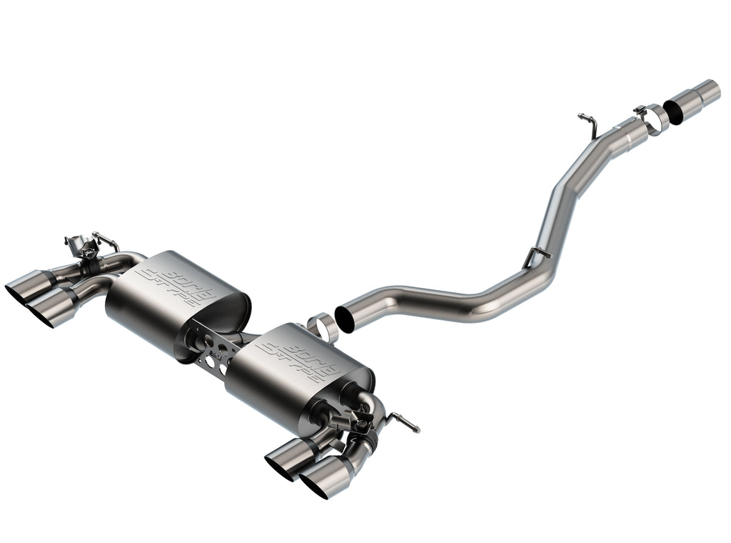 Borla Volkswagen Golf R MK7.5 2018-2019 Cat-Back™ Exhaust S-Type