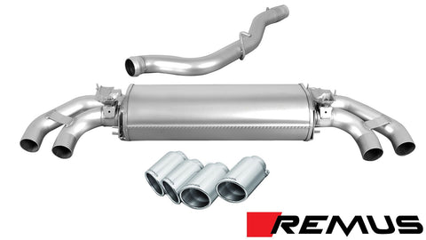 REMUS Performance Sport Exhaust Audi TTS Quattro Coupe Convertible 8S