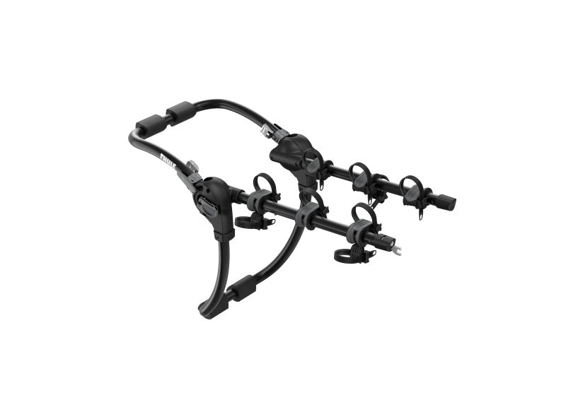 Thule Gateway Pro 3 Hanging-Style Trunk Bike Rack w/Anti-Sway Cages (Up to 3 Bikes) - Black
