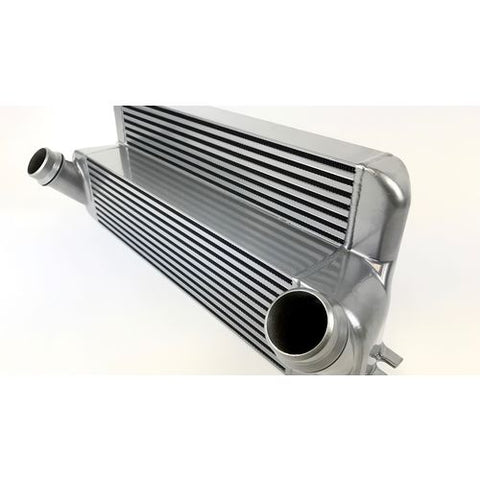 CSF 15-18 BMW M2 (F30/F32/F22/F87) N55 High Performance Stepped Core Bar/Plate Intercooler - Silver