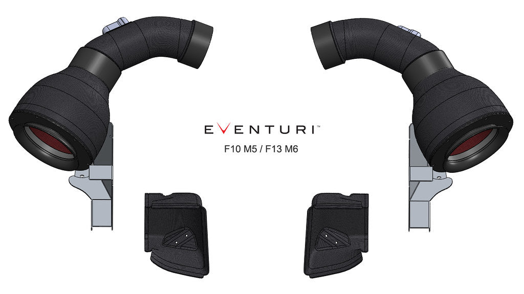 Eventuri BMW M5 - F10 (S63) Carbon Intake