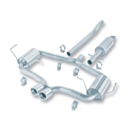 Borla 04-06 Mini Cooper S (Incl. Convertible) Cat-Back™ Exhaust S-Type