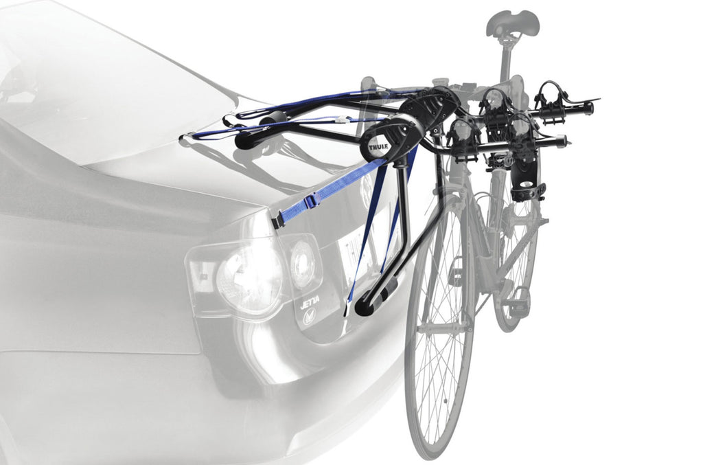 Thule Passage 2 - Hanging Strap-Style Trunk Bike Rack (Up to 2 Bikes) - Black