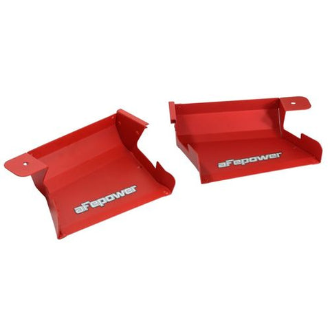 aFe POWER Red Magnum FORCE Intake System Dynamic Air Scoops BMW 3-Series/M3 (E9X) 07-13 L6/V8