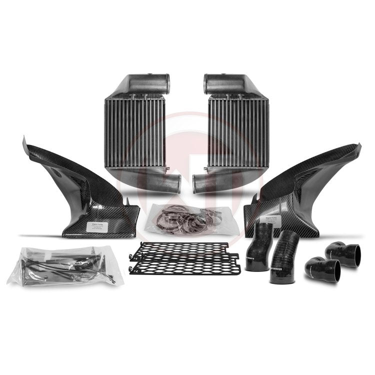 Wagner Tuning Audi RS6+ 4B (US Model) Competition Gen II Intercooler Kit with Carbon Air Shroud