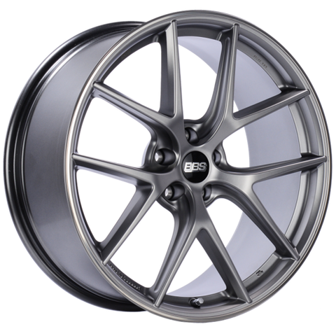 BBS CI-R 0202 20x9 5x120 ET25 Platinum Silver Polished Rim Protector Wheel -82mm PFS/Clip Required