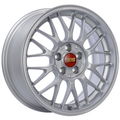 BBS RG-F 527 16x7 4x100 ET35 Sport Silver Wheel -70mm PFS/Clip Required