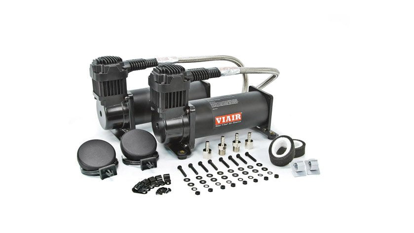 Air Lift Viair 444C Dual Pack Compressor - 200 PSI - Black