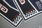 Future Classic - Mini Cooper Club Sticker