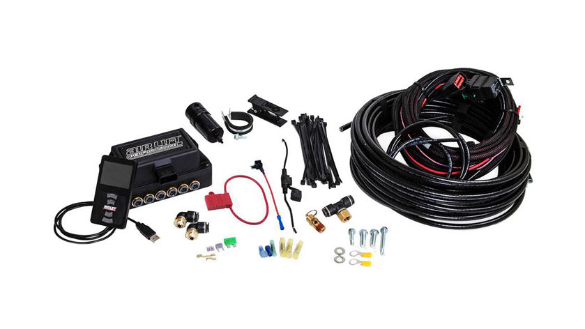 Air Lift Performance 3P (1/4″ AIR LINE, NO TANK, NO COMPRESSOR)