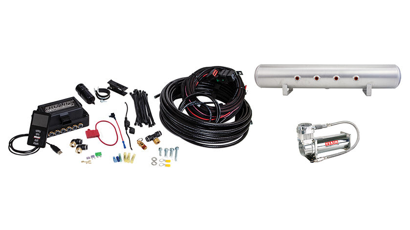 Air Lift Performance 3P (1/4″ AIR LINE, 5 GALLON TANK, VIAIR 444C COMPRESSOR)