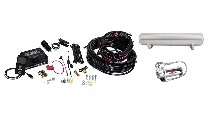 Air Lift Performance 3P (3/8″ AIR LINE, 4 GALLON 5-PORT TANK, VIAIR 444C COMPRESSOR)