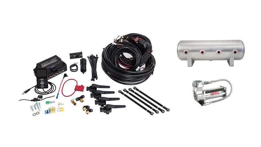 Air Lift Performance 3H (1/4″ AIR LINE, 2.5 GALLON TANK, VIAIR 444C COMPRESSOR)