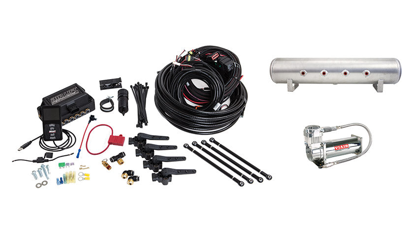 Air Lift Performance 3H (3/8″ AIR LINE, 4 GALLON 7-PORT TANK, VIAIR 444C COMPRESSOR)