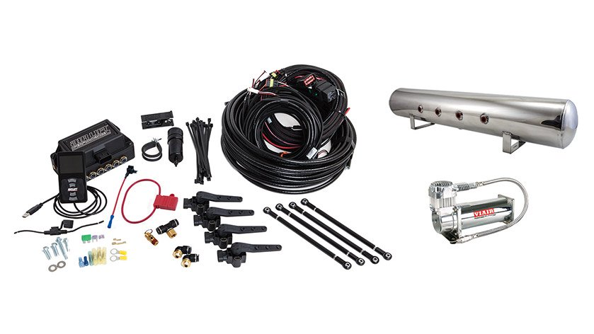 Air Lift Performance 3H (3/8″ AIR LINE, 5 GALLON POLISHED TANK, VIAIR 444C COMPRESSOR)