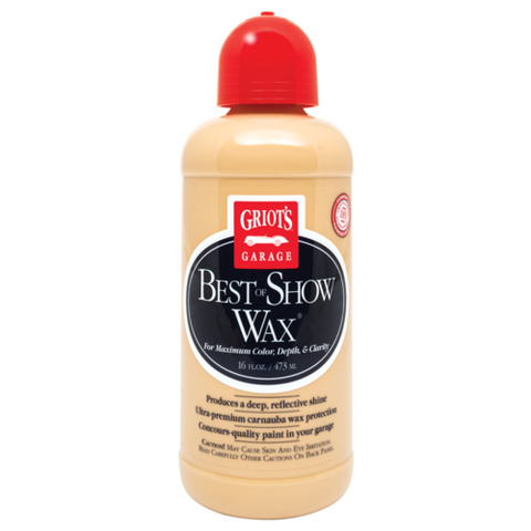 Griots Garage Best of Show Wax - 16oz