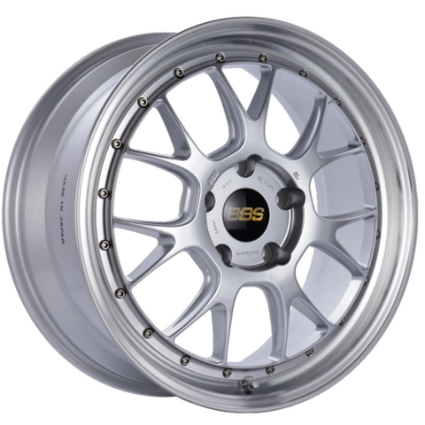 BBS LM-R 309 19x8.5 5x130 ET55 CB71.6 Diamond Silver Center Diamond Cut Lip Wheel