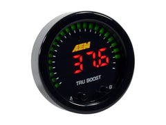 AEM X-Series Tru-BoostX Controller Gauge with Boost Control Solenoid 80PSIg Internal MAP Sensor