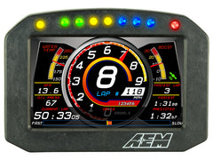 AEM CD-5F Carbon Flat Panel Digital Dash Display