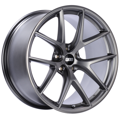 BBS CI-R 0501 20x10 5x112 ET25 Platinum Silver Polished Rim Protector Wheel -82mm PFS/Clip Required